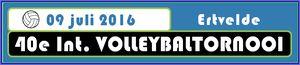 Internationaal Volleybaltornooi te ERTVELDE